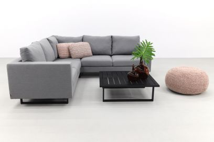 Cuba loungeset - sunbrella - Light grey