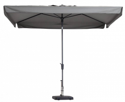 Madison stokparasol Delos luxe Light Grey 200x300 cm.