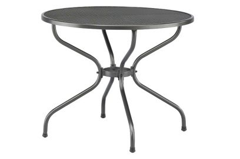 Kettler strekmetaal tafel 90 cm rond