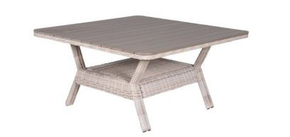 Garden Impressions lounge/dining tafel 140x140 cm. Passion Willow