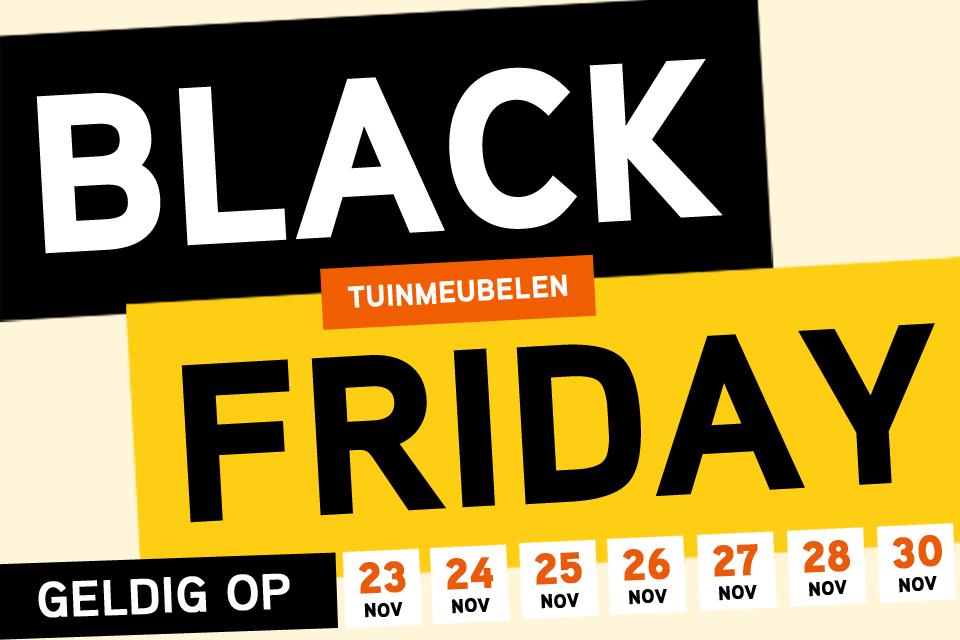 Black Friday 2020 | Van der Garde Tuinmeubelen