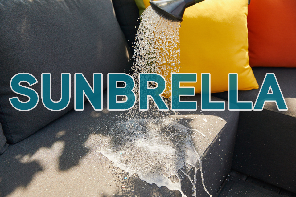All weather Sunbrella tuinmeubelen